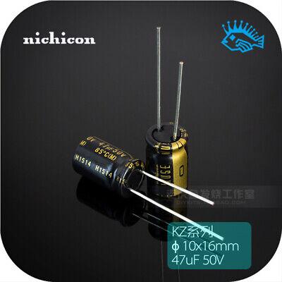 550pcs 47uf 50v Kz Muse Nichicon Audio Electrolytic Capacitor