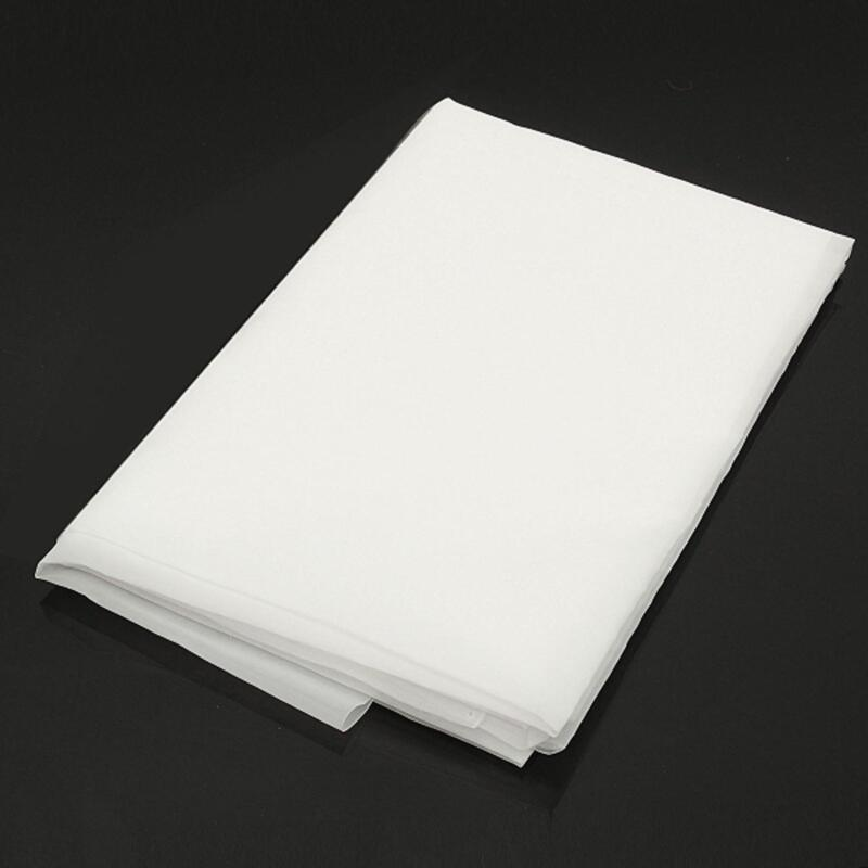"""US Stock 40"""" x 80"""" Nylon Filtration 300 Mesh Water Oil Industrial Filter Cloth"""