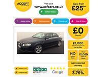 Audi A4 2.0TDI 2007MY S Line FROM £25 PER WEEK!