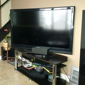 46 inch TV with stand