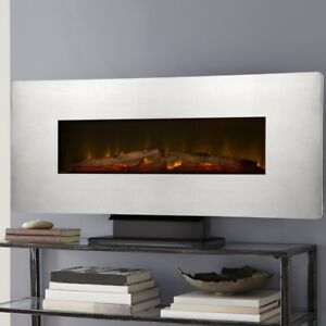 Wall Hung Electric Fireplace. New
