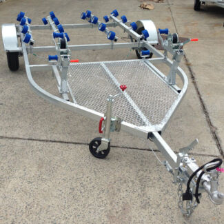 Swiftco Trailers Townsville Double Jet Ski Trailer Roller Type Garbutt Townsville City Preview
