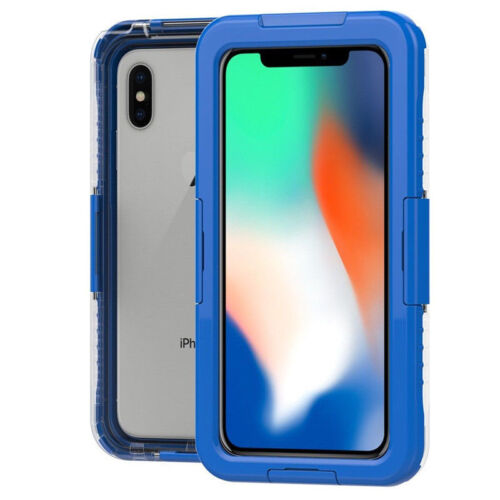 New Waterproof Shockproof TPU Hard Case Cover For iPhone XS MAX XR X 7 6S 8 Plus