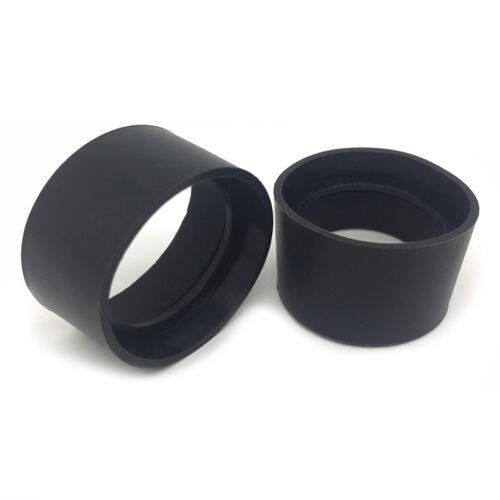2PCS Eye Guards Binocular Microscope Eyepiece Eye Piece 29-30mm Rubber Eye Cups