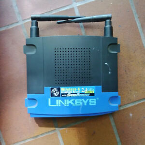 Linksys wireless G broadband router 2.4GHz
