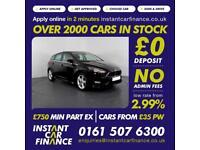 Ford Focus Zetec S Tdci Hatchback 1.5 Manual Diesel LOW RATE CAR FINANCE