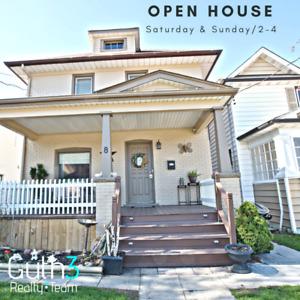OPEN HOUSE / SAT-SUN 2-4 / 8 GIBSON PL