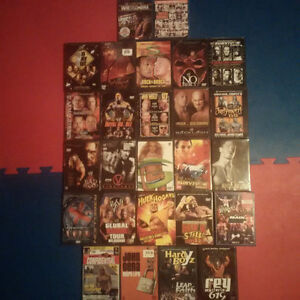 For Sale: Lot of WWE DVDs & Blu-Rays