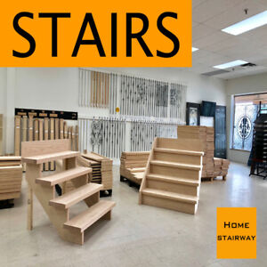"36"" SOLID OAK TREAD & RISER - Iron railings & Stairs part"