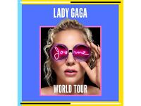 Party with Gaga! 2x Lady Gaga Joanne World Tour PREMIUM VIP Party Package tickets O2 London 9th Oct