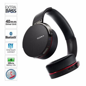-Sony EXTRA BASS Over-Ear Wireless Headphones -