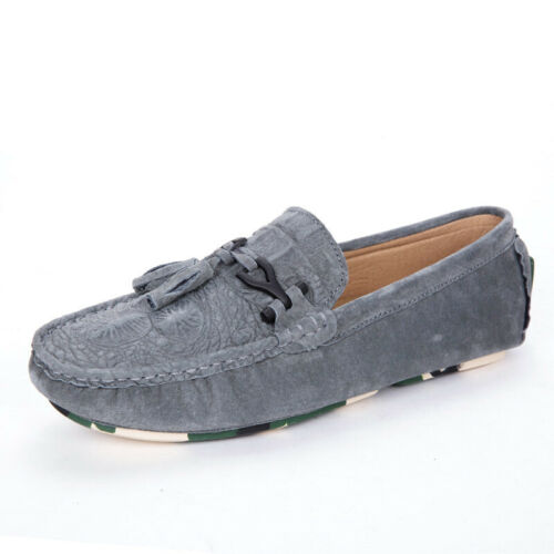 Mens Flat Moccasins Gommino Loafers Pumps Outdoor Slip On Casual Boat Shoes Chic