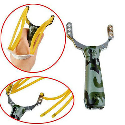 NEW Slingshot CAMOUFLAGE High Velocity Powerful Catapult Hunt Sling Shot Outdoor