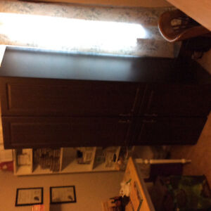 2 Cabinets with doors