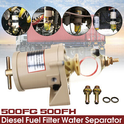 500FG 500FH Racor Diesel Fuel Filter Oil Water Separator Marine Truck Bolt Ring