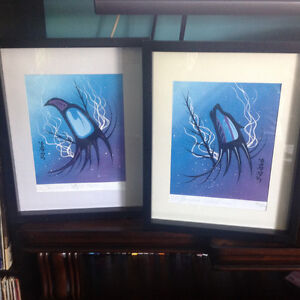 Limited Edition Signed Native Art