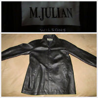 MEN'S dress pants and leather jacket