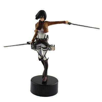 """5.5"""" Anime Attack On Titan Mikasa Ackerman PVC Action Figure Model Toy"""