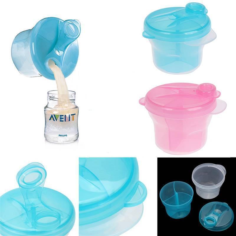 Blue Philips AVENT Milk powder dispenser SCF135//06 food storage containers