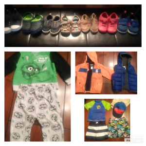Huge boys clothing lot 12-18mts