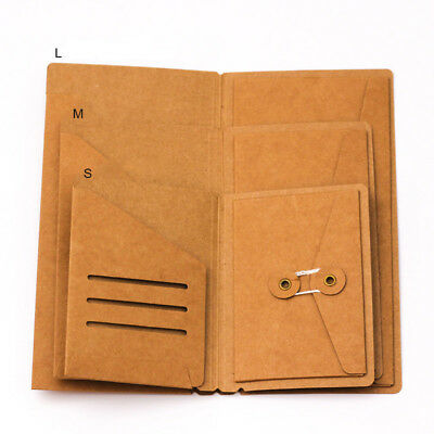 Kraft Paper Inner Sheet Traveler Notebook Envelope Folder File Folder Filing Bag
