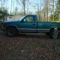 MUST SELL!! REDUCED 1994 GMC 3/4 TON DIESEL 4X4
