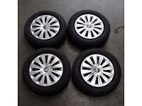 """15"""" VW Steel Wheels"""