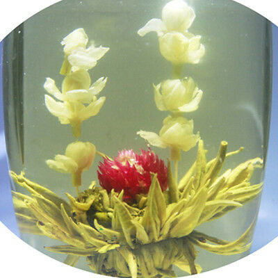 Jasmine Handmade Blooming Flower Tea Chinese Ball Blooming Flower Herbal Tea WL