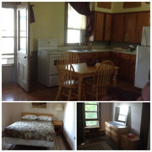 Country, furnished, one bedroom apartment