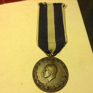 WW2 ROYAL GREEK CAMPAIGN MEDAL (WAR AGAINST ITALY AND GERMANY)