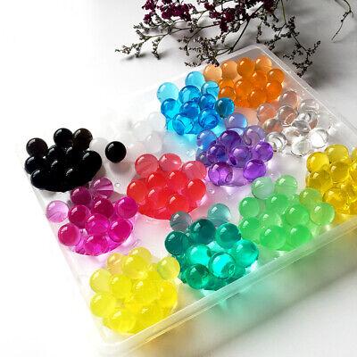 1100X Water Plant Flower Jelly Beads Crystal Mud Gel Balls Pearls Wedding Decor - Center Piece Decorations
