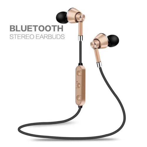 2018  Headphones Wireless Bluetooth 4.1 Sport Earphones Stereo Headset With Mic
