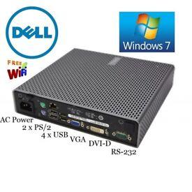 Dell Optiplex FX160 Thin Client Intel Atom 1.60GHz 2GB RAM 80GB Hard Drive WINDOWS