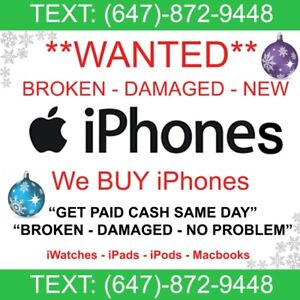 I BUY iPhones - Sell  Me Your iPhone - I Pay CASH for iPhones