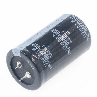 1pcs 2200uf 250v 2200mfd 250volt 105c Aluminum Electrolytic Capacitor 3550mm