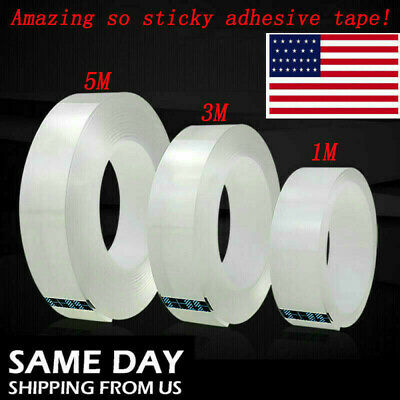 Best Double-sided Grip Tape Traceless Washable Adhesive Gel Nano Invisible