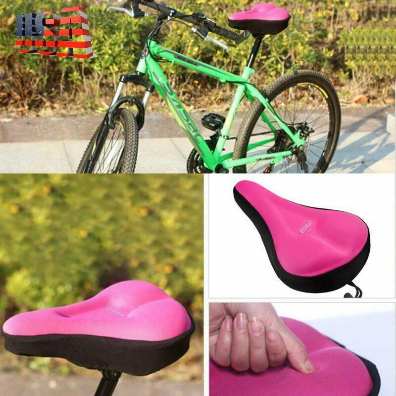 Universal Bicycle Seat Covers For Comfort Women Cushion Soft