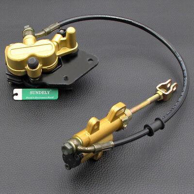 Rear Brake Master Cylinder Caliper Assembly 50 70 90 110 125CC ATV PIT DIRT BIKE