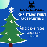 Affordable Calgary Face Painting for your Christmas Party!
