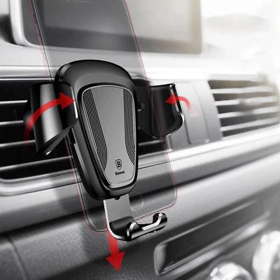 Handyhalterung KFZ Anti-Shake Multi-Winkel Schwerkraft Auto Lüftung für iPhone X