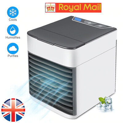 3 in 1 Personal Air Conditioner Home Mini Air Cooler Office Humidifier Purifier
