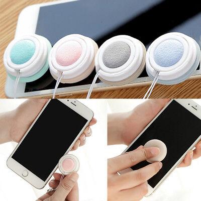 Cute Jumbo Macaron Cell Phone Screen Glasses Clean Key Pendant Phone Accessories