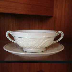 "Wedgewood ""Tapestry"" - Bowl with Saucer"