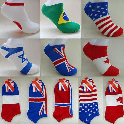Trendy Socks (1 Pair Men Hot Trendy Autumn Leisure Low Cut Crew Cotton Breathable Ankle)