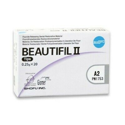 Beautifil Ii Flouride Releasing Dental Tips A2 - 20 Pack By Shofu Blow Out