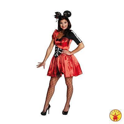 RUB 13715 Damen Karneval Halloween Kostüm Skelett Zombie Maus Horror Gr. 34 - - Maus Halloween Kostüm