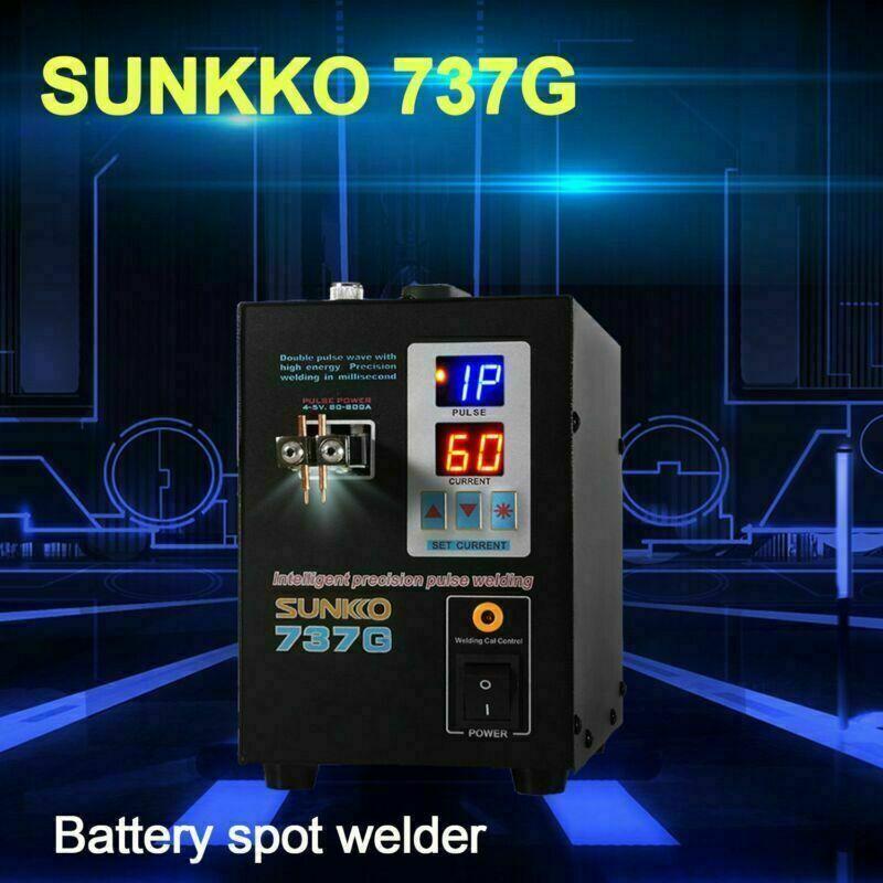 737G 18650 Battery Spot Welder Battery Welding Machine Digital LED Light