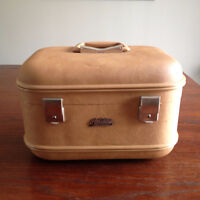 Trousse a cosmetique * VINTAGE MONTREAL LUGGAGE *Cosmetics case
