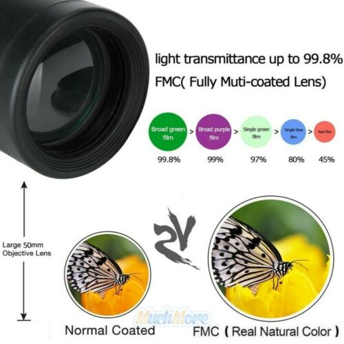 40X60 Optical Monocular Night Vision BAK4 Prism Waterproof High Power Telescope - $15.99