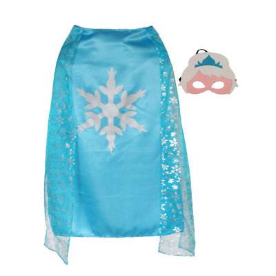 Frozen {Elsa} Cape & mask set  dress~up & Halloween Ideas(: ~NEW~ - Halloween Dressing Up Ideas